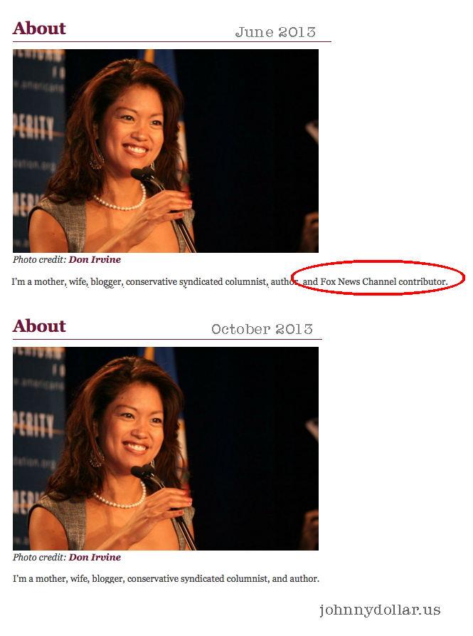 Michelle Malkin Oops Michelle malkin edits website,